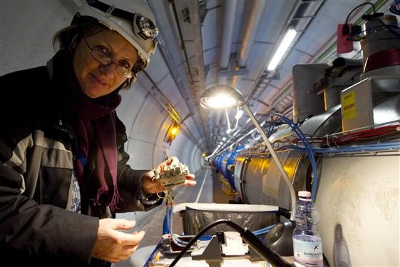 Se han logrado las primeras colisiones en el CERN a 7 TeV