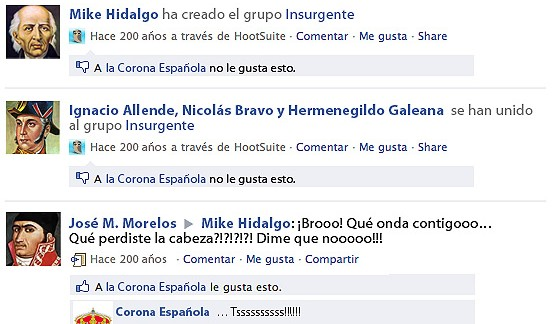 Facebook Bicentenario