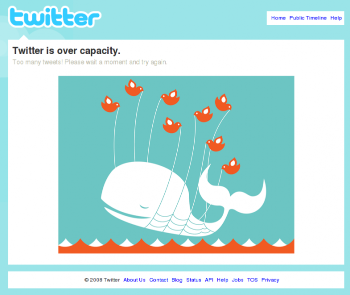 Estamos acostumbrándonos a servicio de baja calidad: Twitter, Blogger, YouTube…
