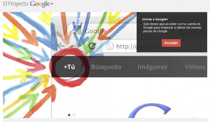 La primera campaña mercadológica / creativa en Google+