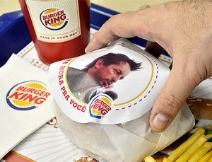 Burger King, campaña Whopper Face en Brasil