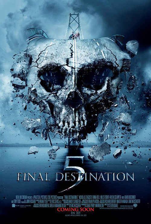 Bazán Blog, Alternativo Networks y Warner Brothers te invitan a la premiere de Destino Final 5