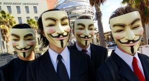Anonymous en Los Ángeles / Foto: Vincent Diamante