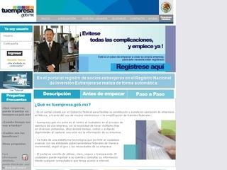 Sitio tuempresa.gob.mx