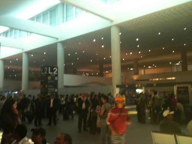 El cierre del AICM causó que cientos de vuelos fueran afectados