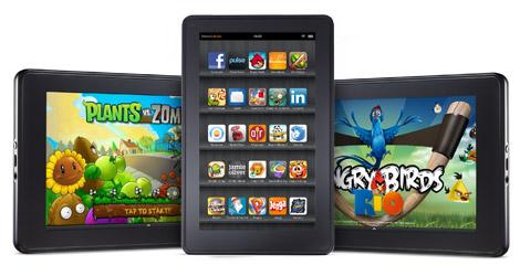 ¿El Kindle Fire vendrá a destronar al iPad?