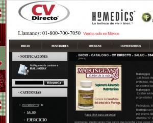 Productos milagro CV Directo