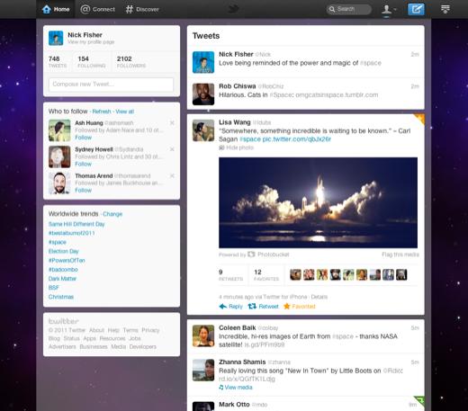 Twitter nuevamente estrenará rediseño – Video + screenshot