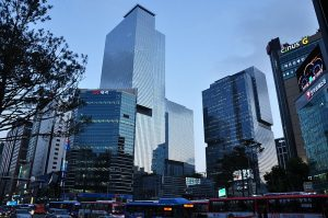 Oficinas Centrales Samsung en Seúl, Corea / Foto: Oskar Alexanderson